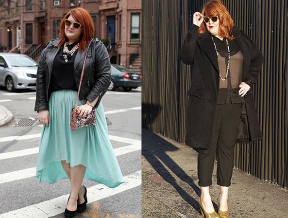 Blogueira de moda Plus Size